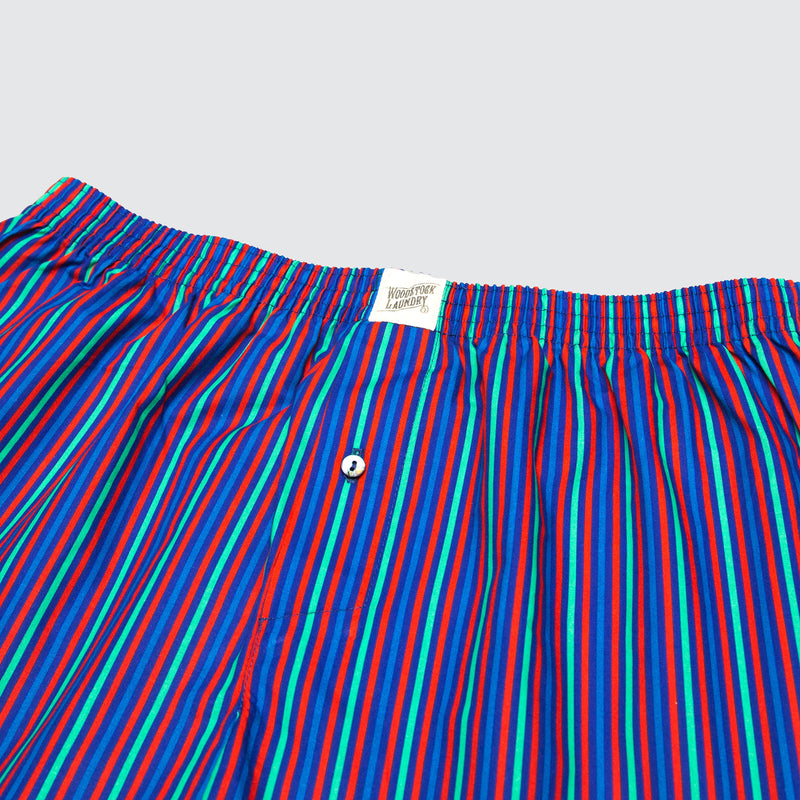 Boxer Shorts Candy Stripe - Woodstock Laundry