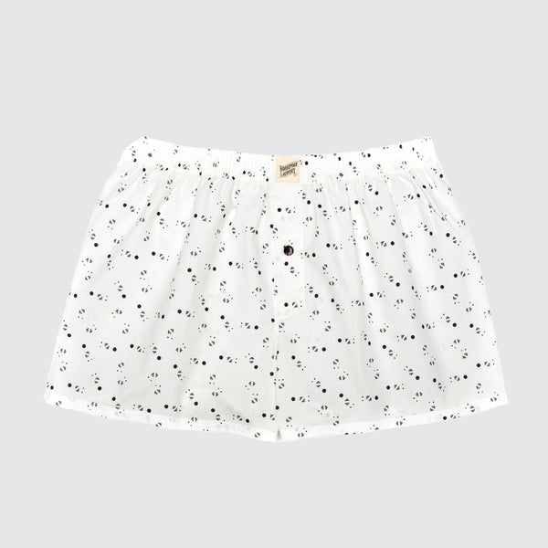 Boxer Shorts Galaxy White - Woodstock Laundry