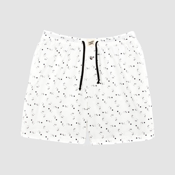 Lounge Shorts Galaxy White - Woodstock Laundry
