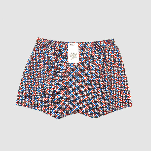 Boxer Shorts Retro Geometric - Woodstock Laundry