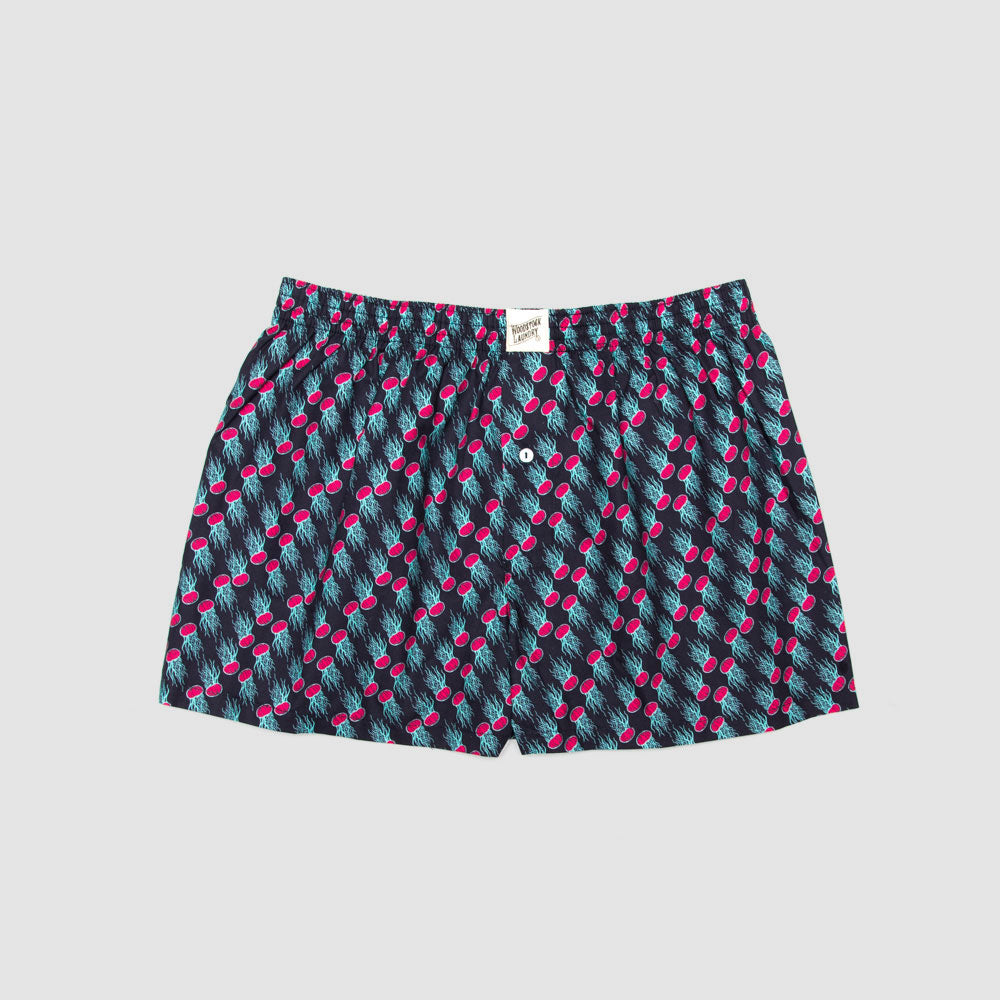 Boxer Shorts Jelly Pink - Woodstock Laundry