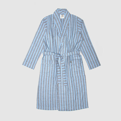 Gown Turquoise Flannel - Woodstock Laundry