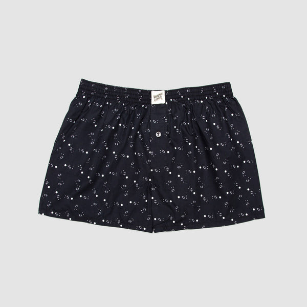 Boxer Shorts Galaxy Black - Woodstock Laundry