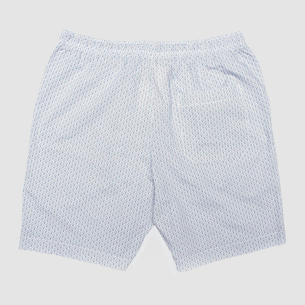 Lounge Shorts Scales White