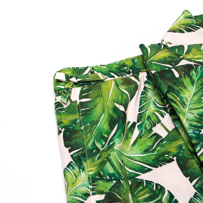 Womens Short Pyjamas Banana Leaves