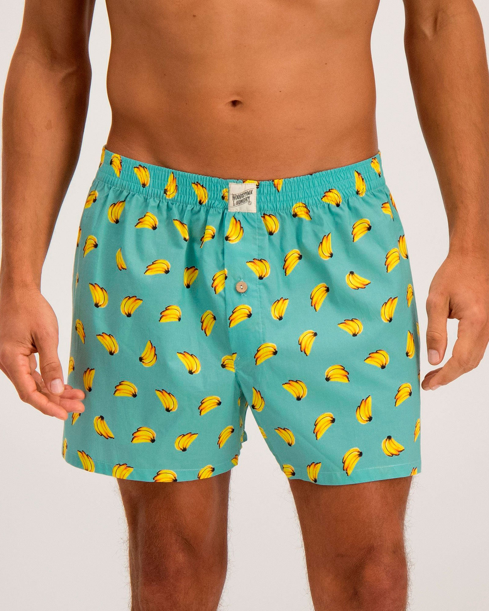 Mens Boxers Bananas - Woodstock Laundry