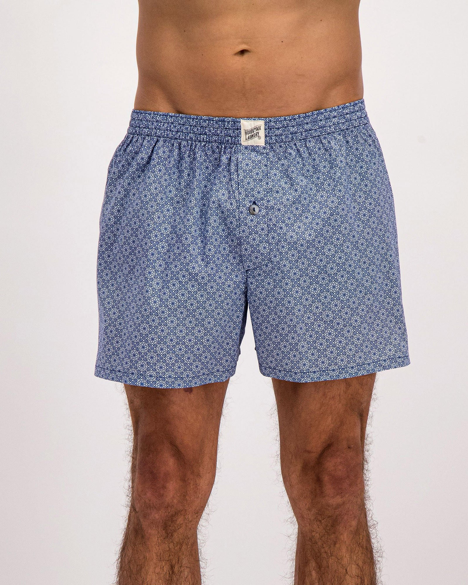 Mens Boxers Albert Flower - Woodstock Laundry