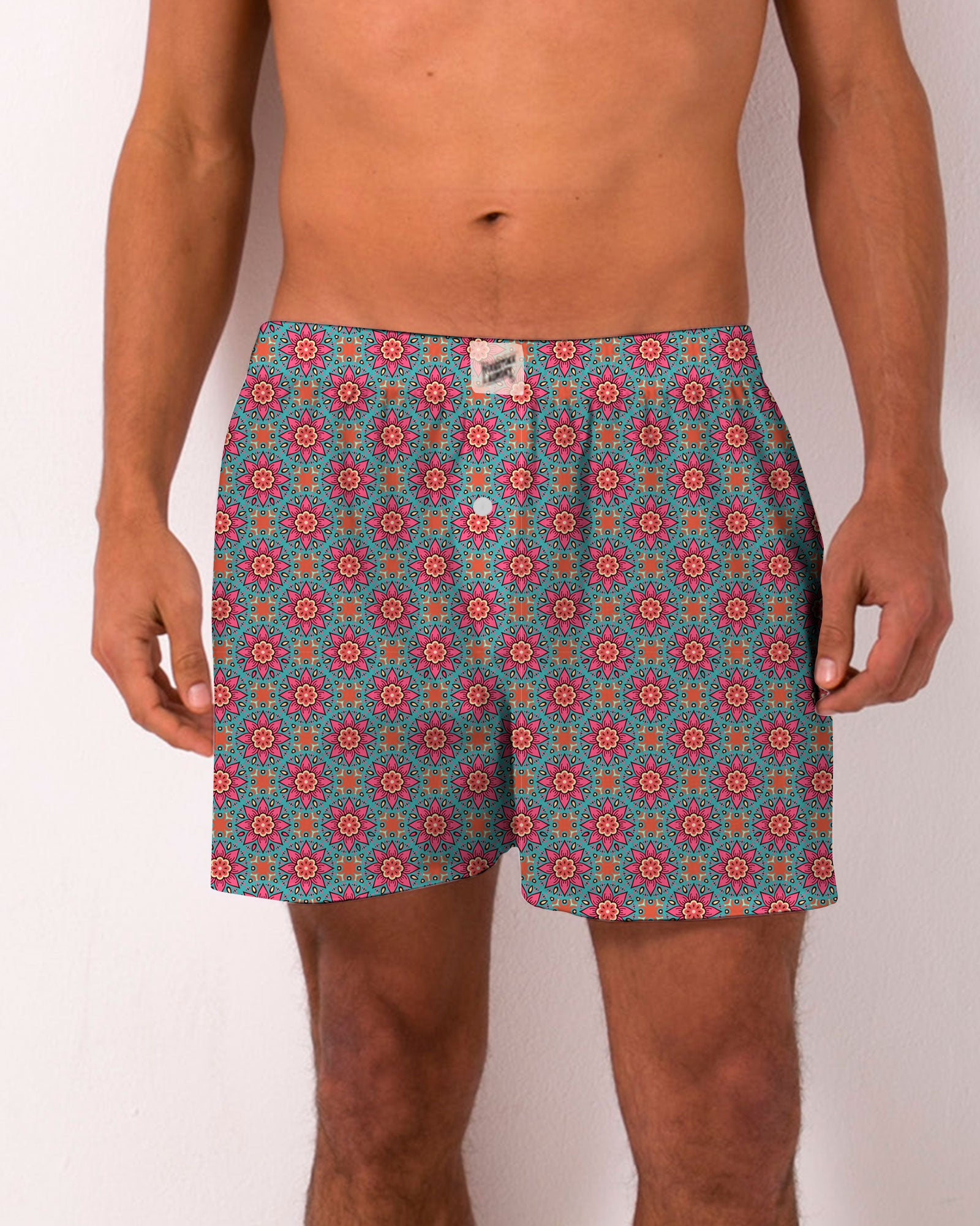 Boxer Shorts Central Park Flower - Woodstock Laundry