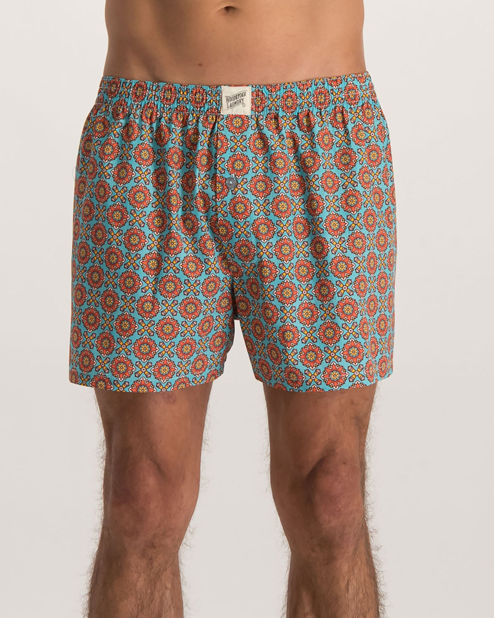 Mens Boxer Shorts Funky Disco - Woodstock Laundry