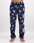 Mens Lounge Pants Flying Fish Navy - Woodstock Laundry