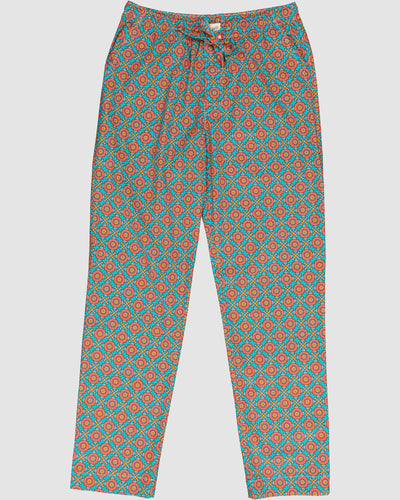 Mens Lounge Pants Funky Disco Front - Woodstock Laundry