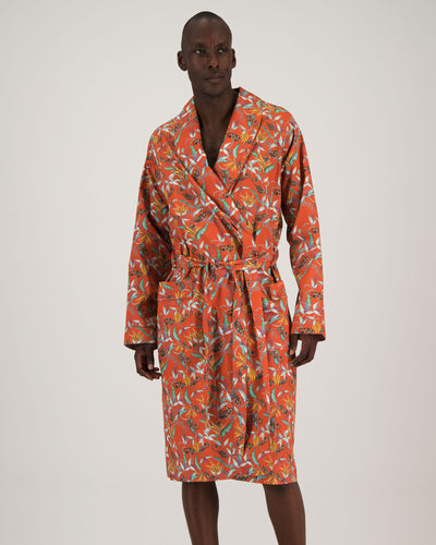 Mens Gown - Nag Apies Orange