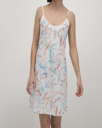 Womens Chemise Monkeys - Woodstock Laundry