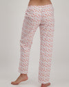 Womens Lounge Pants Flamingo Flamenco Pink - Woodstock Laundry