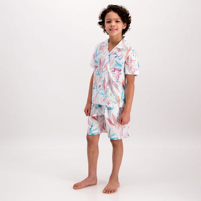Boys Short Pyjamas Monkeys - Woodstock Laundry