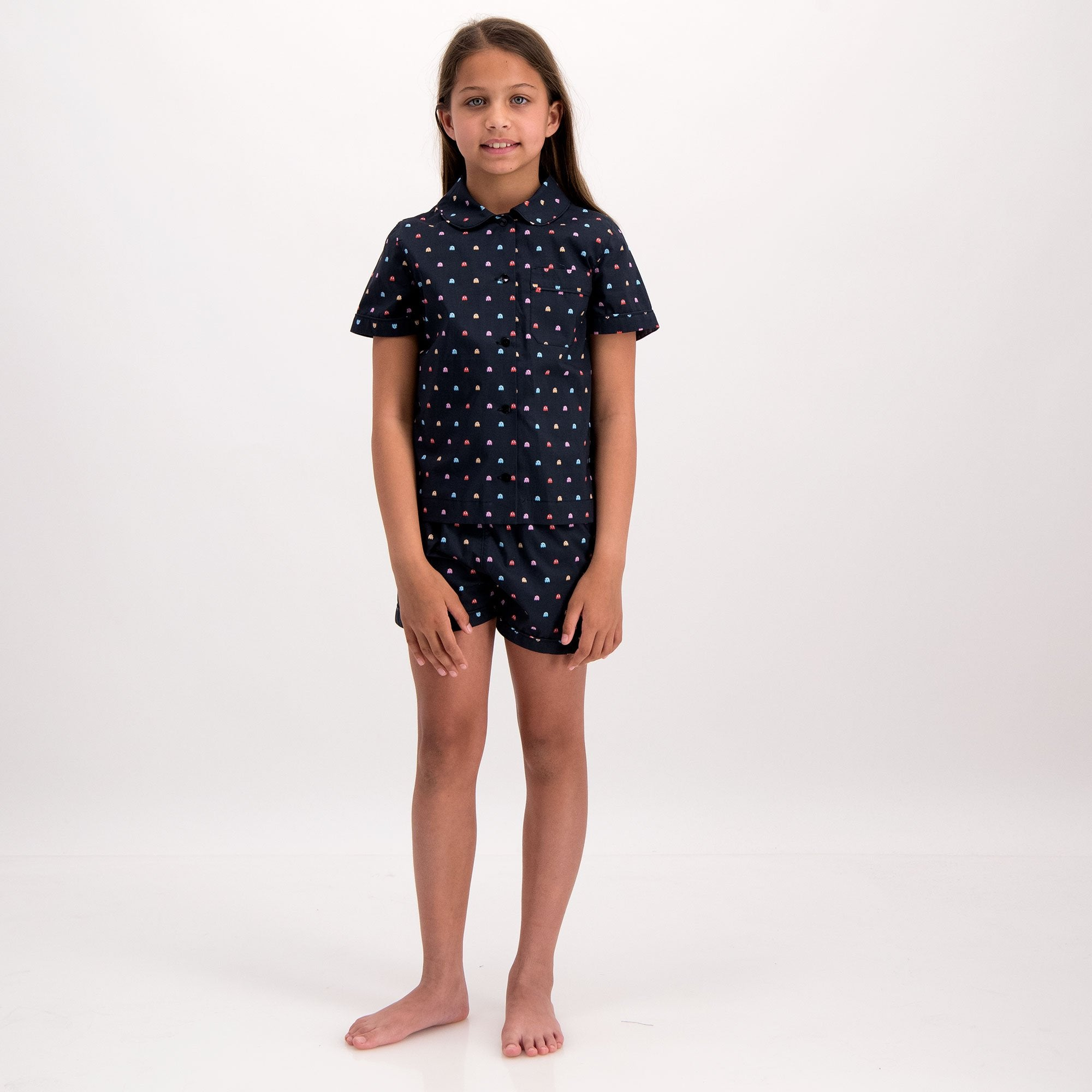 Girls Short Pyjamas P-Ghost - Woodstock Laundry
