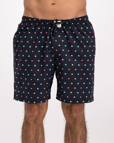 Lounge Shorts P-Ghost Black