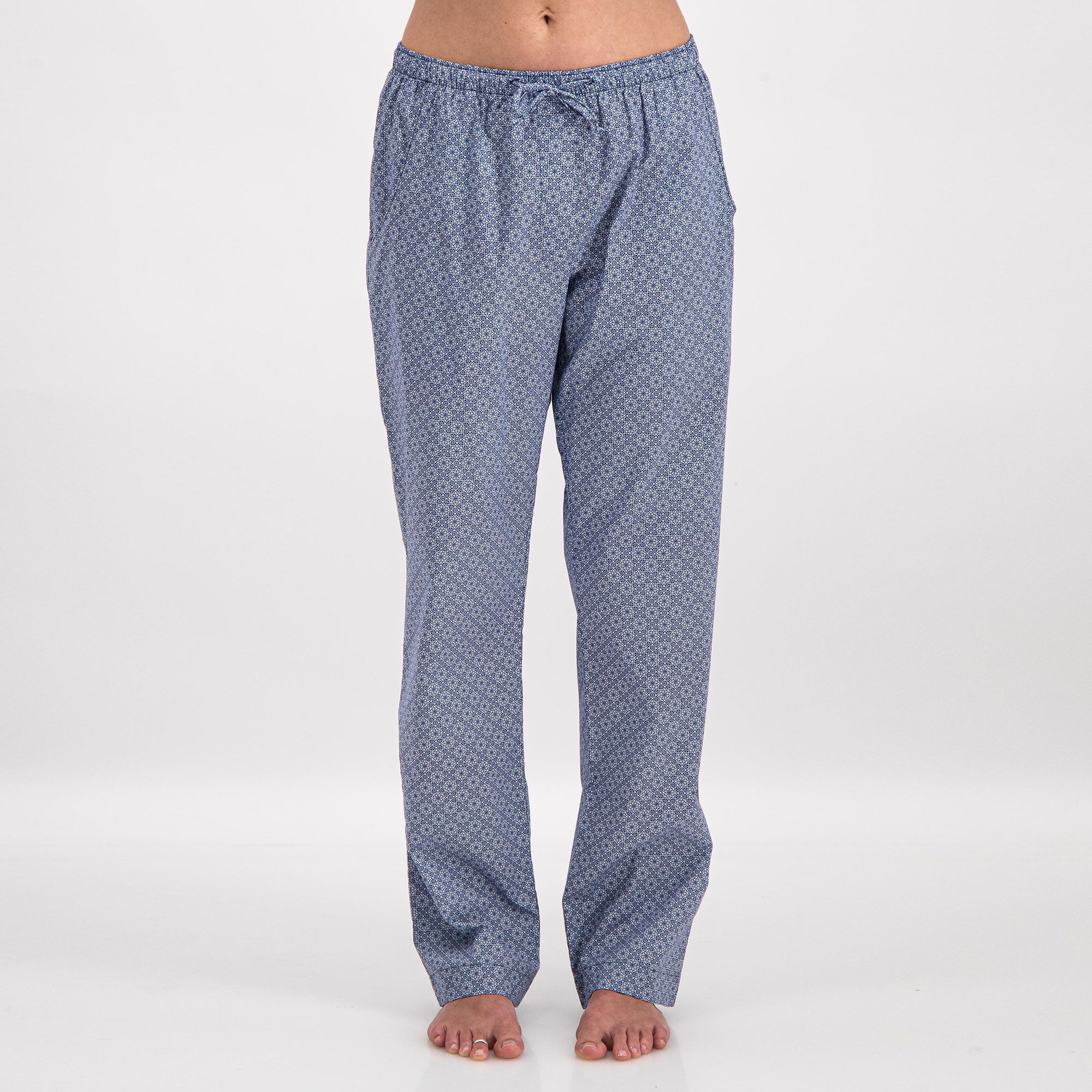 Womens Lounge Pants Albert Flower - Woodstock Laundry
