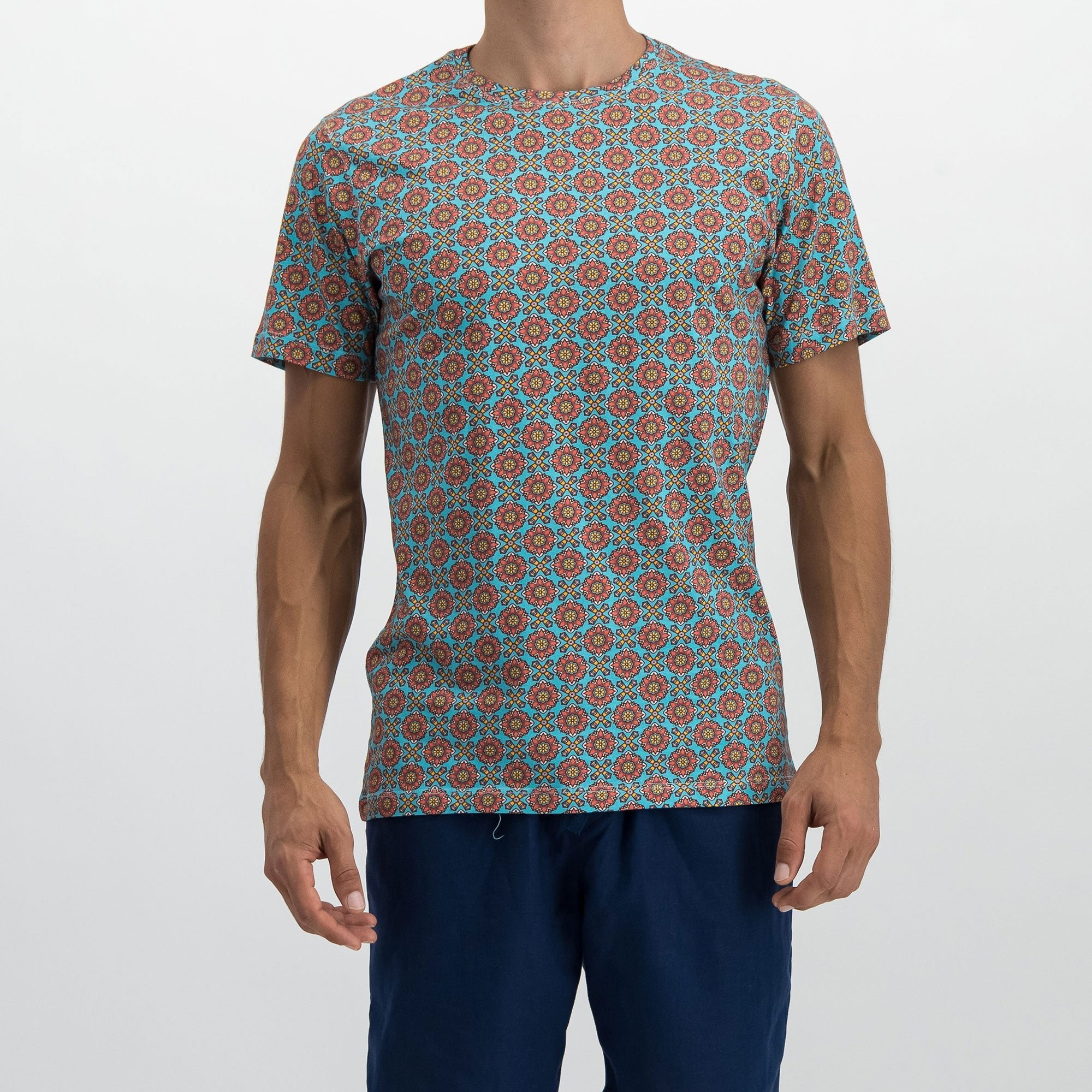 Mens T-Shirt Funky Disco
