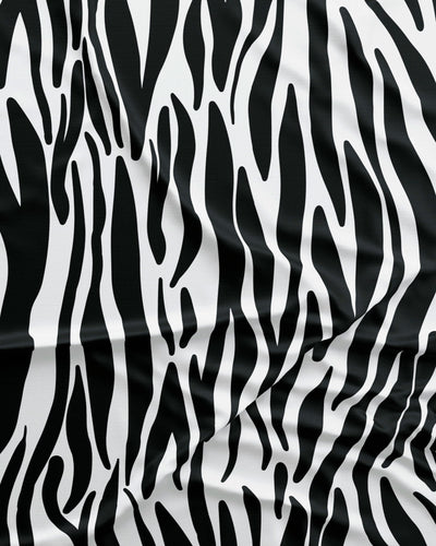 Zebra Pattern Detail - Woodstock Laundry