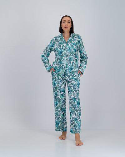 Womens Long Pyjamas Janes Jungle