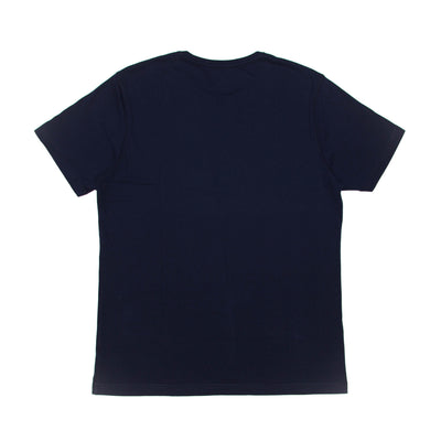 T-Shirt Navy with Light Blue Typo