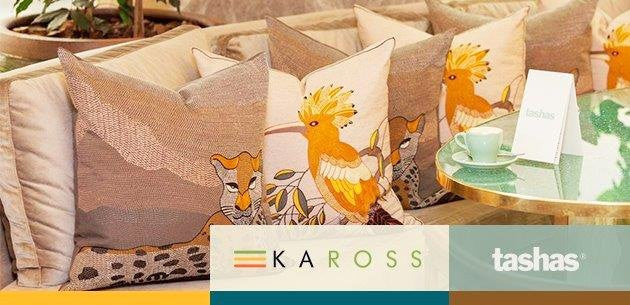 Our new Kaross Tashas collection has been released! Inspired by the theme African Splendour