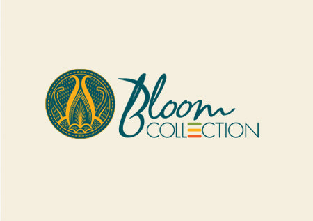 Our Bloom Collection featured hand embroidered African Art inspired by the traditional floral motifs of Shangaan Cloth.