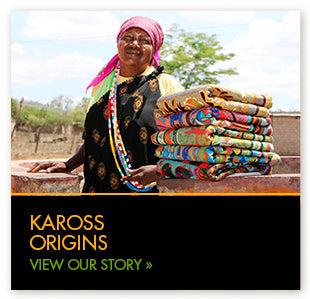 Kaross was founded as a way of bringing sustainable opportunities for mainly rural women to make a living.
