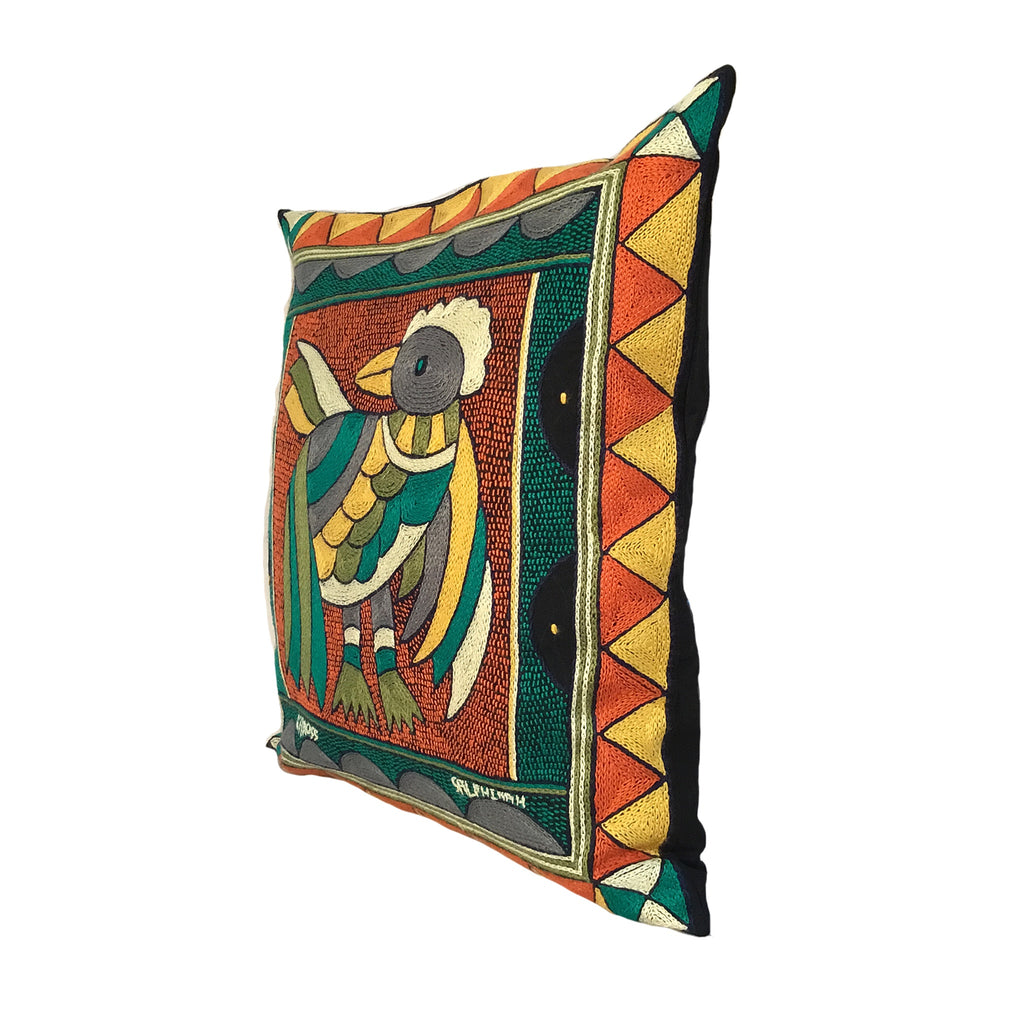 Bushveld Lush Pheasant Cushion Cover