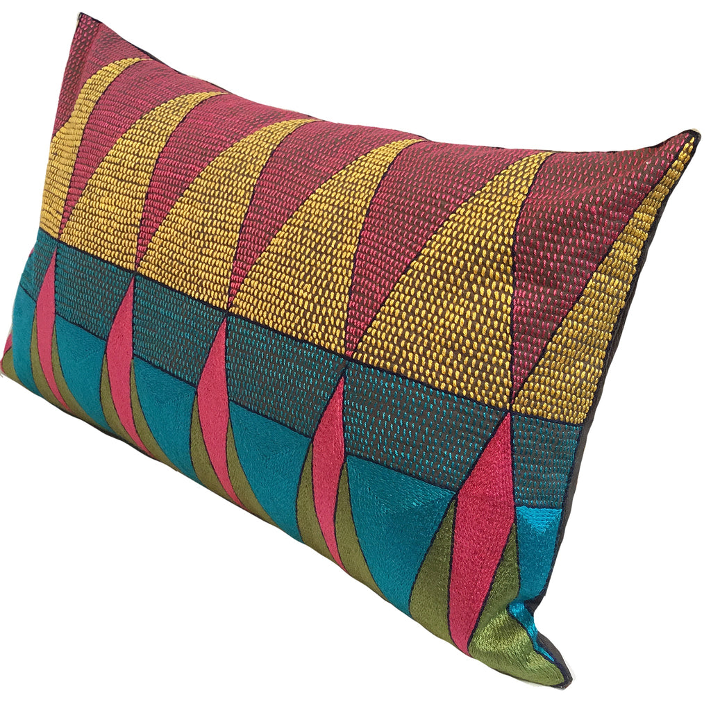 Shangaan Love Geometric Cushion Cover