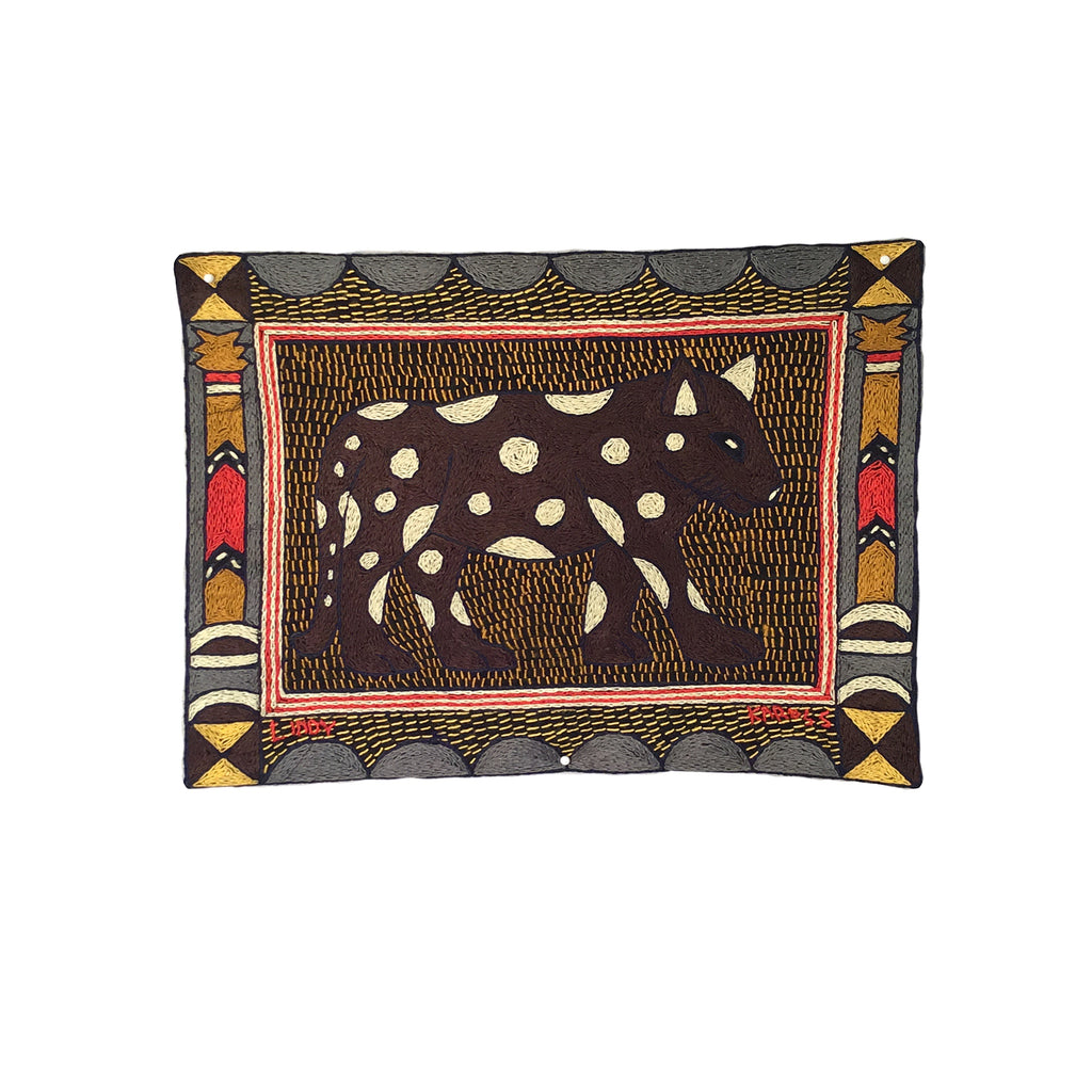 Royal Zulu Leopard Unpadded Placemat