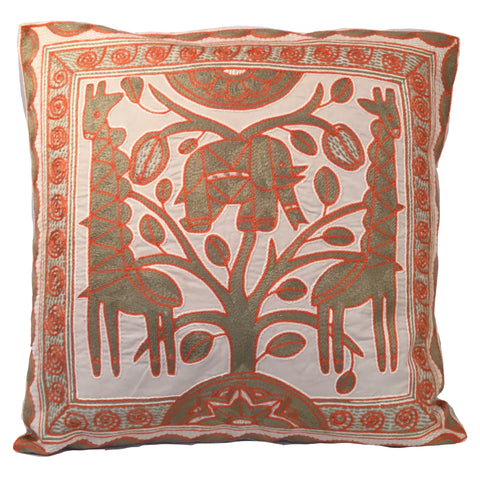 Namib Rust Elephant's Heart Monochrome Cushion Cover