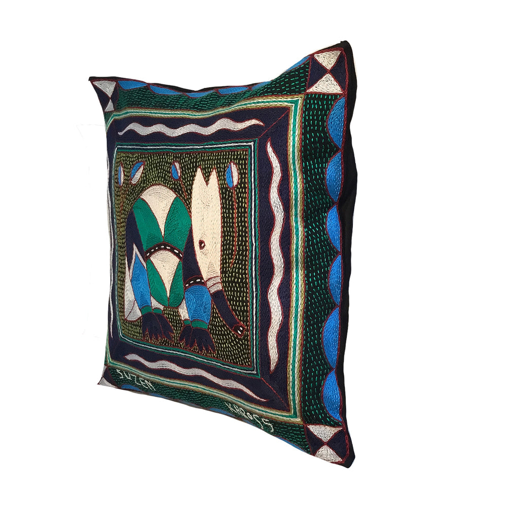 Turaco Anteater Cushion Cover