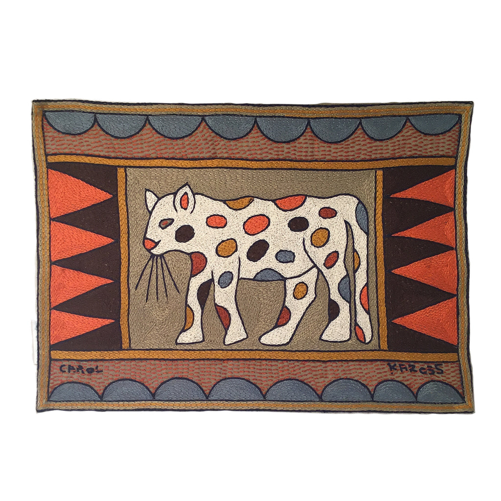 Namib Rust Leopard Padded Placemat
