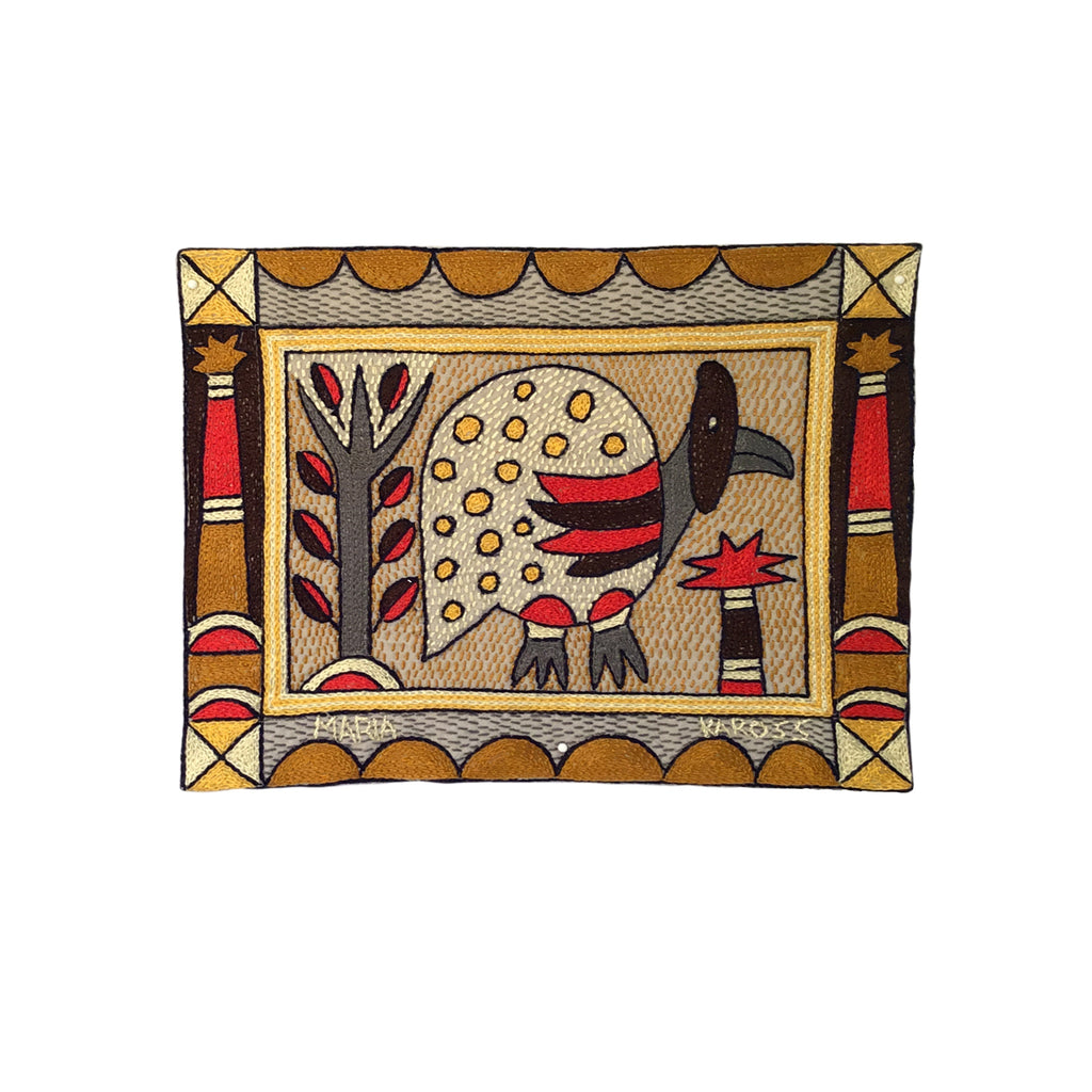 Royal Zulu Guinea Fowl Unpadded Placemat