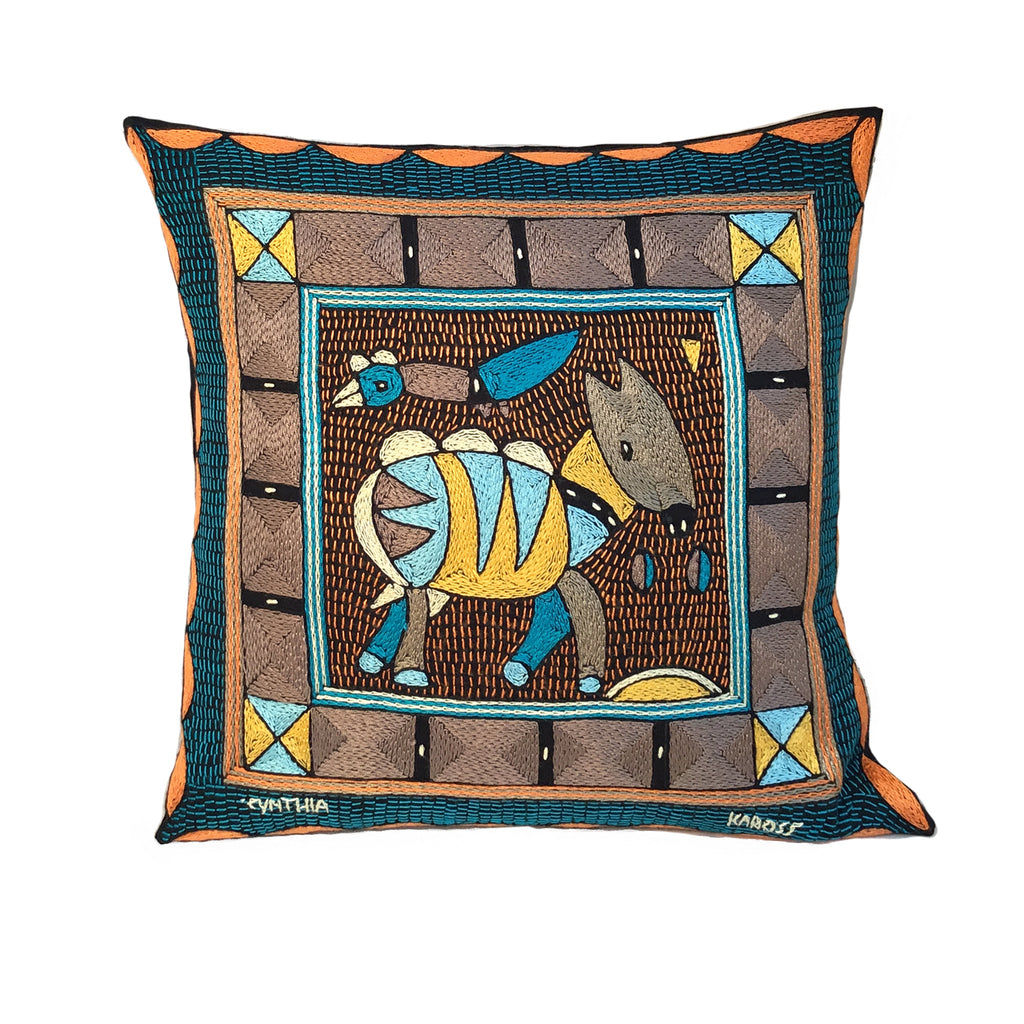 Coastal Calm Antelope Cushion Cover
