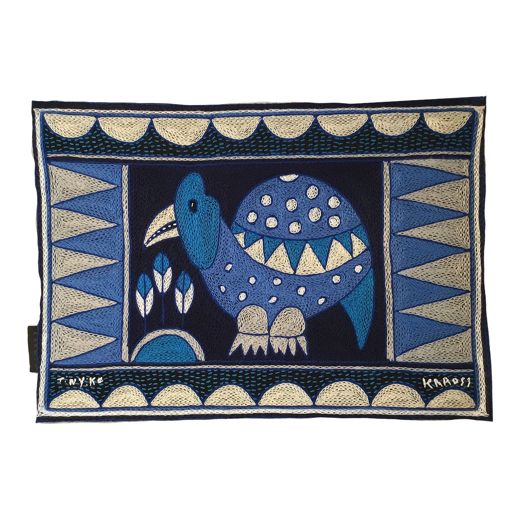 Delpht Guinea Fowl  Padded Placemat
