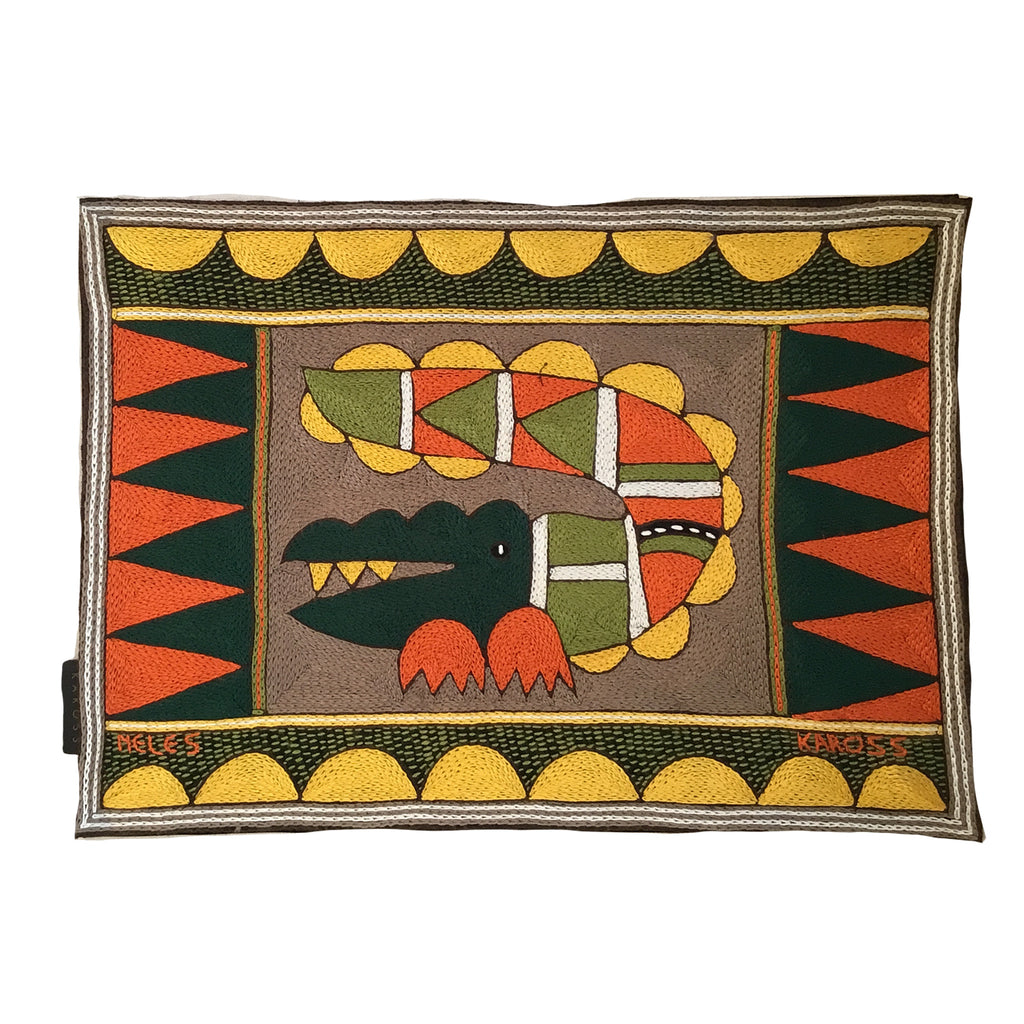 Bushveld Warmth Crocodile Padded Placemat