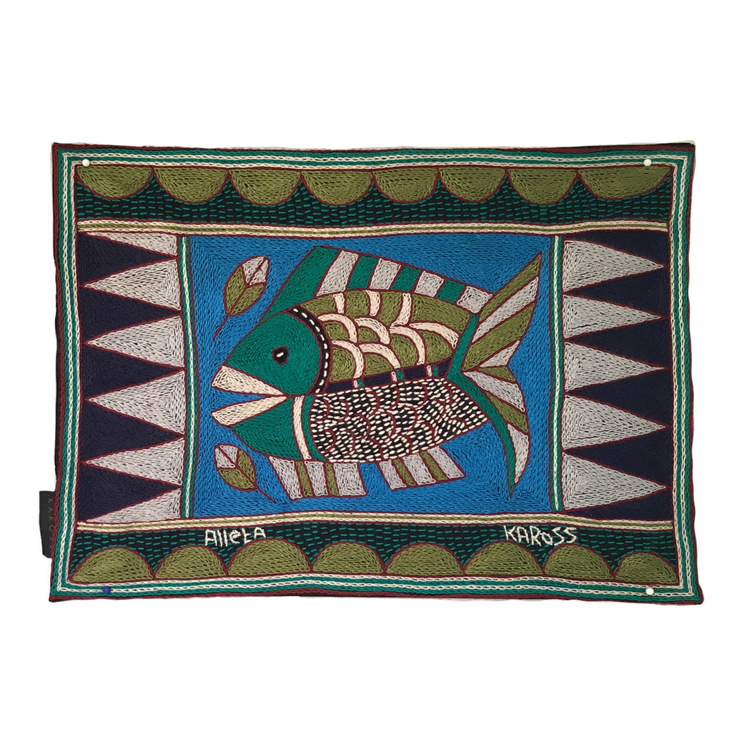 Turaco Fish Padded Placemat