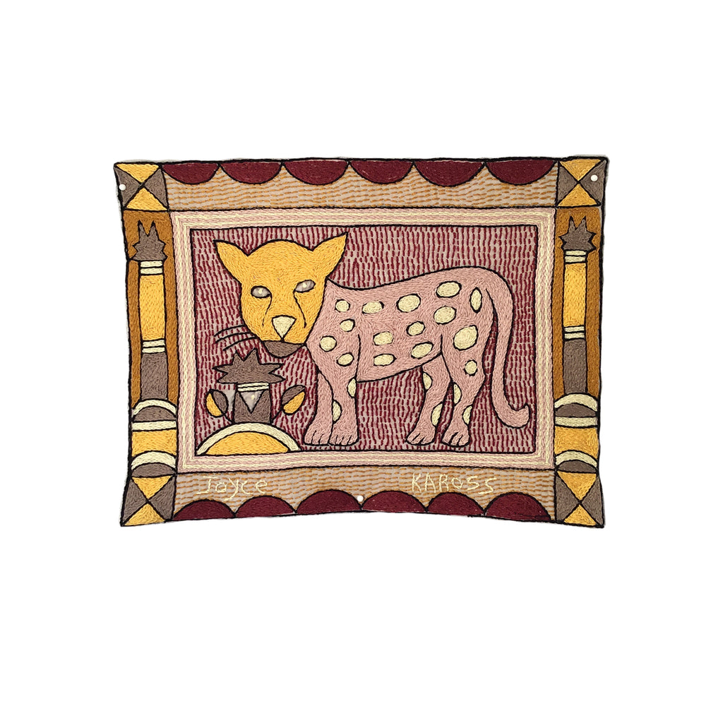 African Dawn Leopard Cub Unpadded Placemat