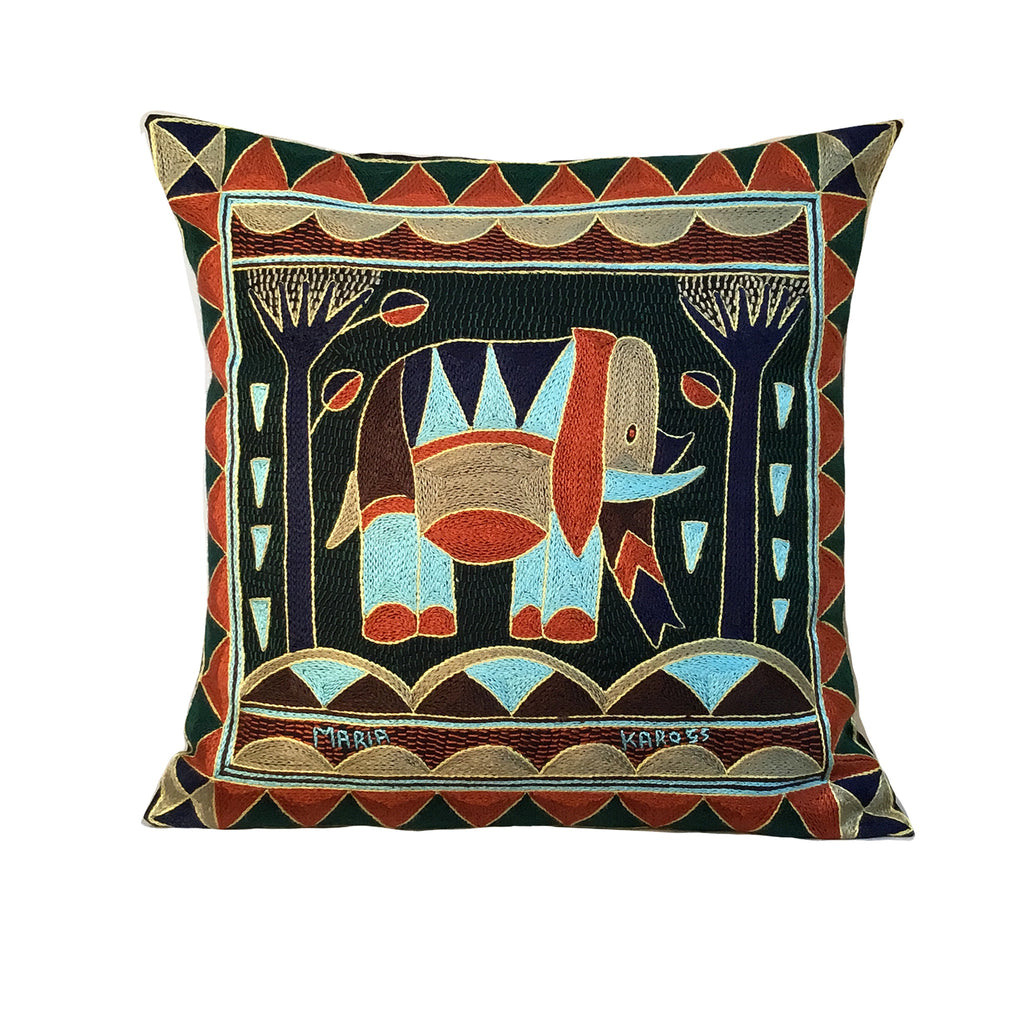 Mopani Moments Elephant Bull Cushion Cover