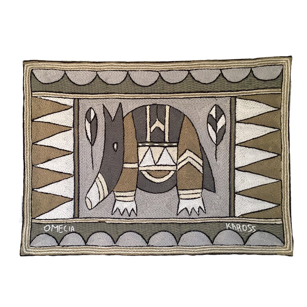 Scattering of Africa Anteater Padded Placemat