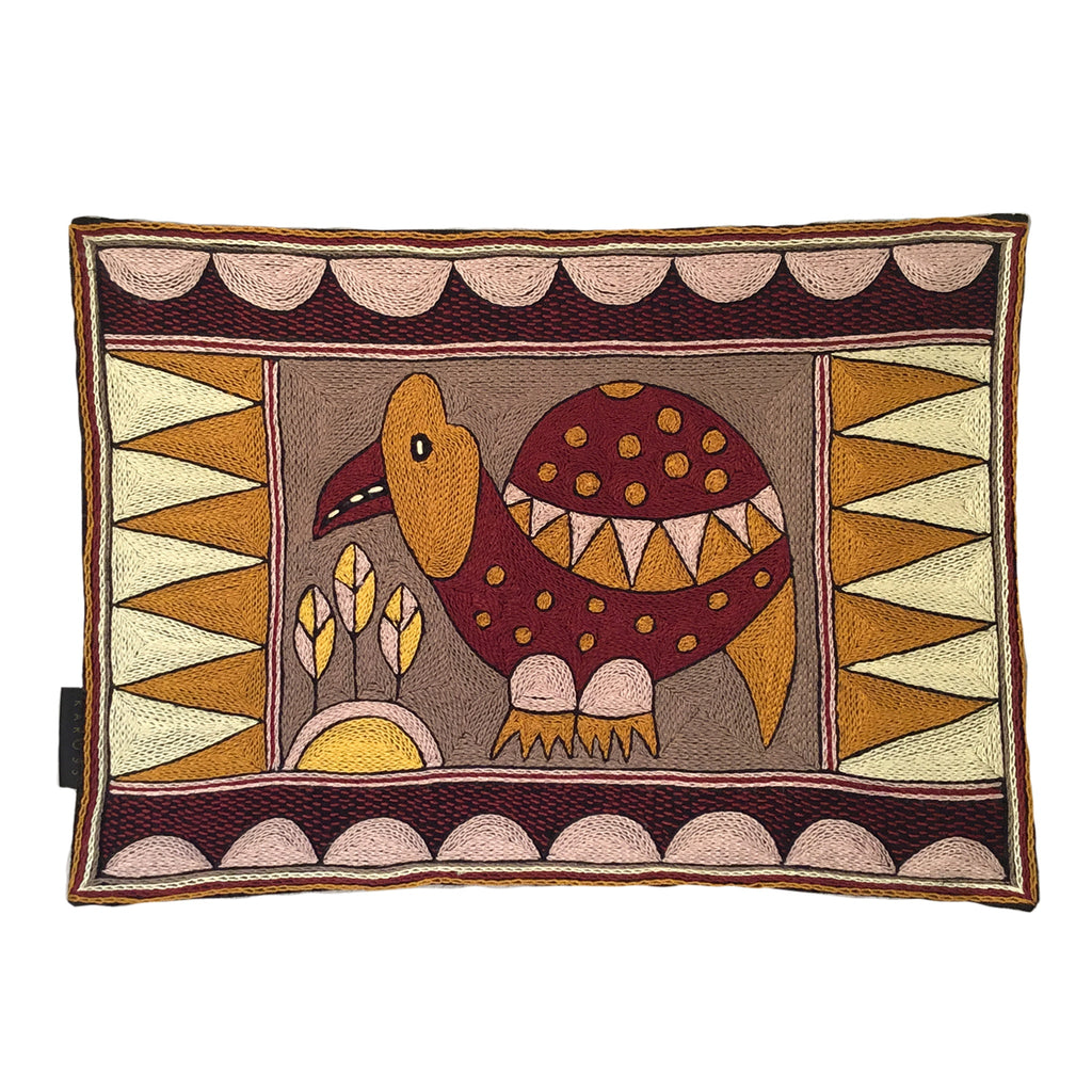 African Dawn Guinea Fowl Padded Placemat