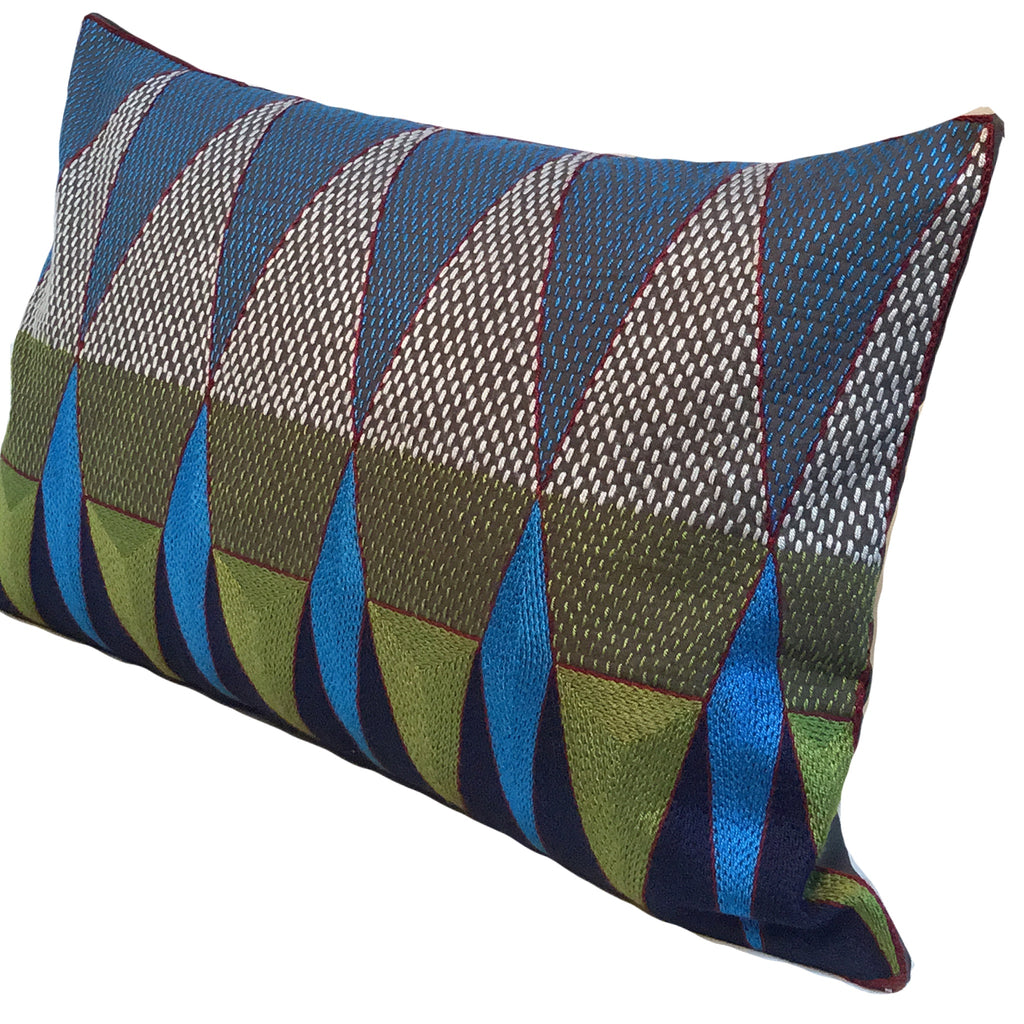 Turaco Geometric Cushion Cover