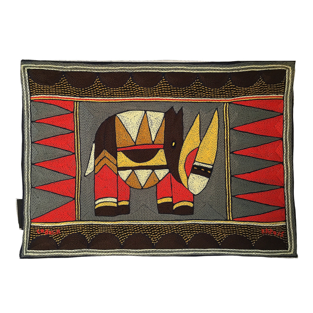 Royal Zulu Rhino Padded Placemat