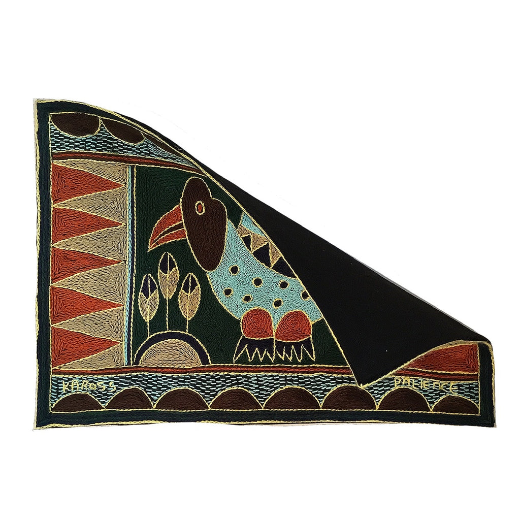 Mopani Moments Guinea Fowl Padded Placemat