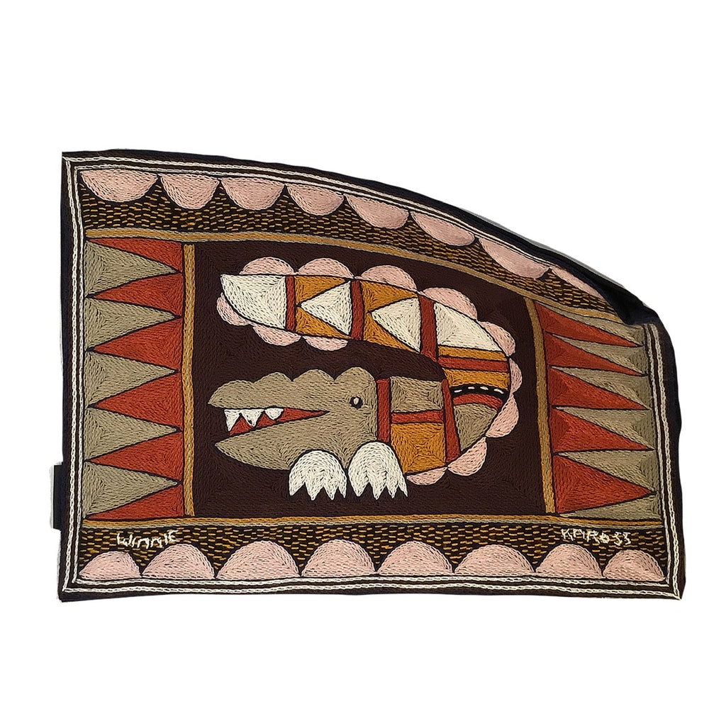 Namib Rust Crocodile Padded Placemat
