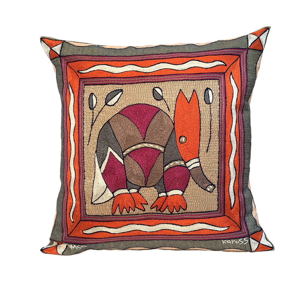 Ruby Sunset Anteater Cushion Cover