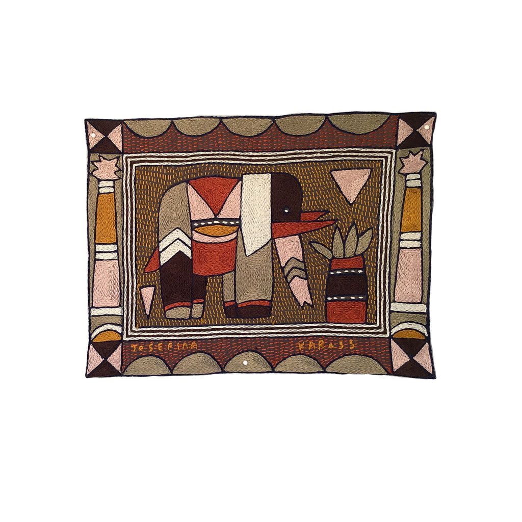 Namib Rust Elephant Unpadded Placemat